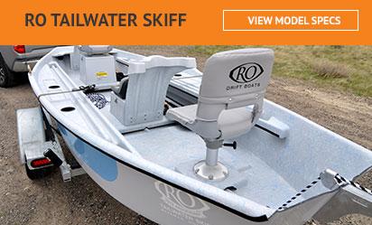 RO Tailwater Skiff Drift Boat