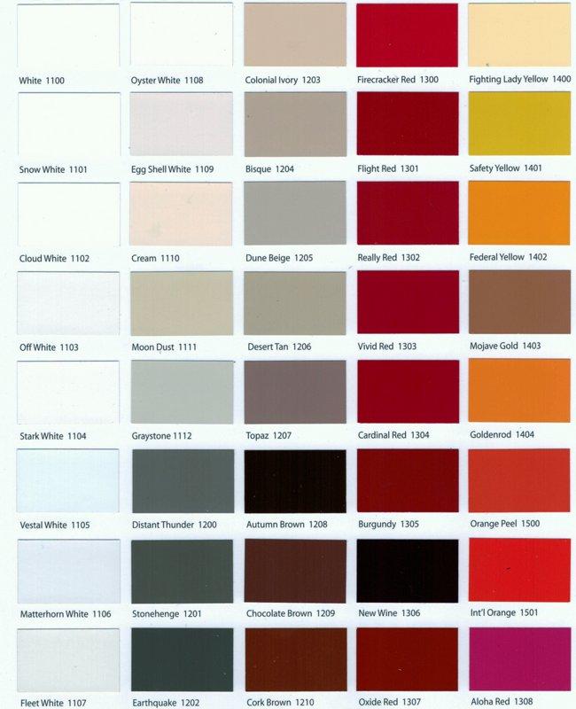 Color Name List